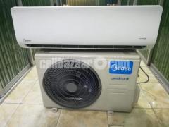 Midea MSE-12HRI 1 Ton Hot & Cool Inverter AC 0% EMI Any Bank