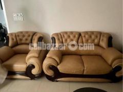 Leather Sofa Set - Image 3/3
