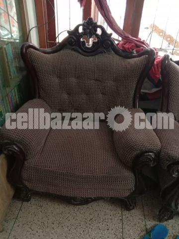 3+2+1 Victorian Sofa Set - 1/4