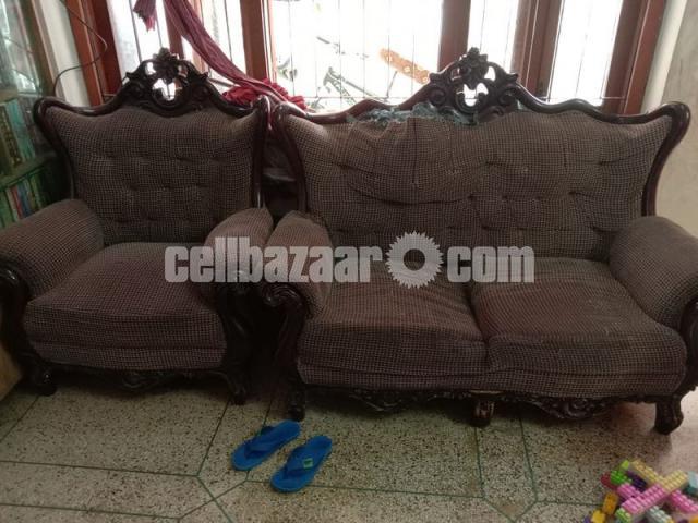 3+2+1 Victorian Sofa Set - 2/4