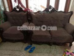 3+2+1 Victorian Sofa Set - Image 2/4