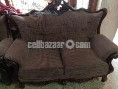 3+2+1 Victorian Sofa Set - Image 4/4