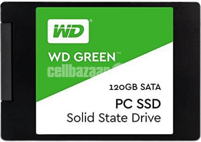 Western Digital WD Green 120GB SSD - 3/10