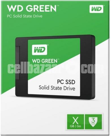 Western Digital WD Green 120GB SSD - 4/10