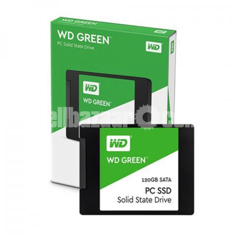 Western Digital WD Green 120GB SSD - 5/10