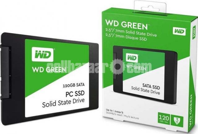 Western Digital WD Green 120GB SSD - 6/10