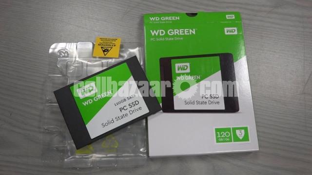 Western Digital WD Green 120GB SSD - 7/10