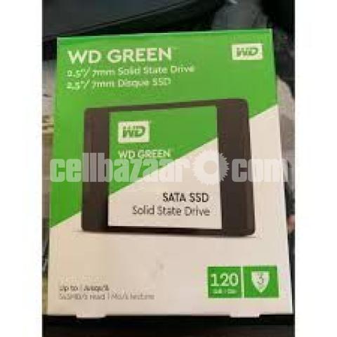 Western Digital WD Green 120GB SSD - 10/10