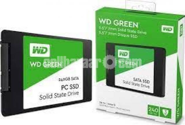Western Digital WD Green 240GB SSD - 3/10