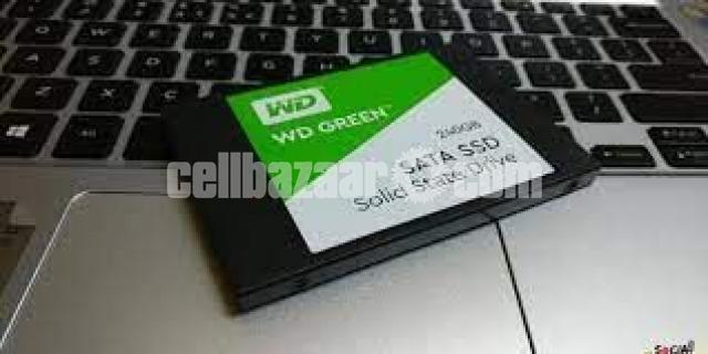 Western Digital WD Green 240GB SSD - 5/10