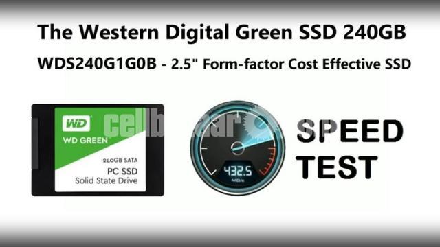 Western Digital WD Green 240GB SSD - 6/10