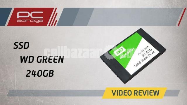 Western Digital WD Green 240GB SSD - 7/10