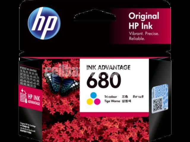 HP Genuine 680 Tri-color Original Ink Advantage Cartridge - 1/10