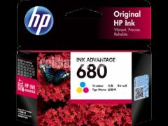 HP Genuine 680 Tri-color Original Ink Advantage Cartridge