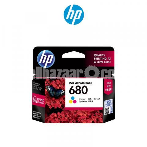 HP Genuine 680 Tri-color Original Ink Advantage Cartridge - 5/10