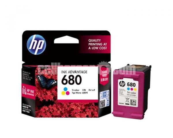 HP Genuine 680 Tri-color Original Ink Advantage Cartridge - 7/10