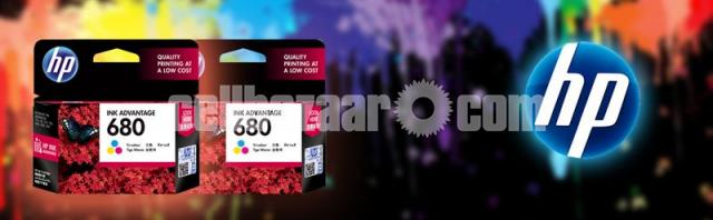 HP Genuine 680 Tri-color Original Ink Advantage Cartridge - 8/10