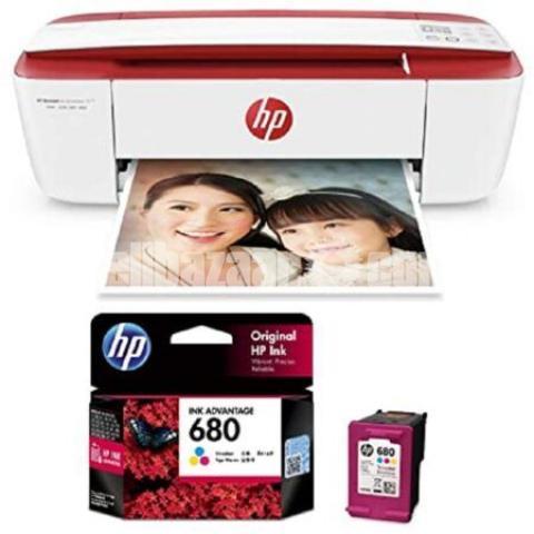 HP Genuine 680 Tri-color Original Ink Advantage Cartridge - 9/10
