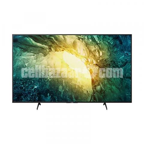 Sony Bravia 65'' X8000H 4K UHD X1 Processor Smart Android TV - 1/5