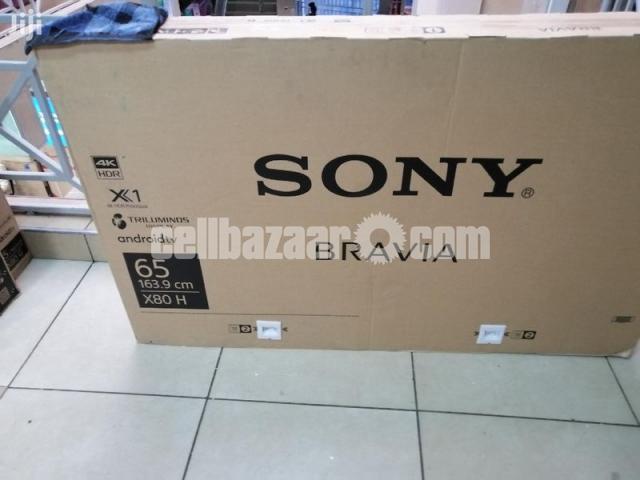 Sony Bravia 65'' X8000H 4K UHD X1 Processor Smart Android TV - 2/5