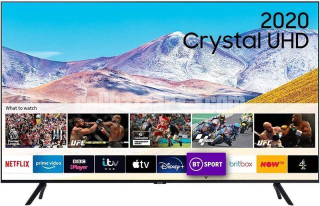 Samsung 65'' TU8000 4K Crystal UHD Voice Control TV 2020 - 1/4