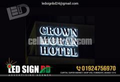 Led Sign Board Neon Sign Board SS Sign Board Name Plate Board LED Display Board ACP Board