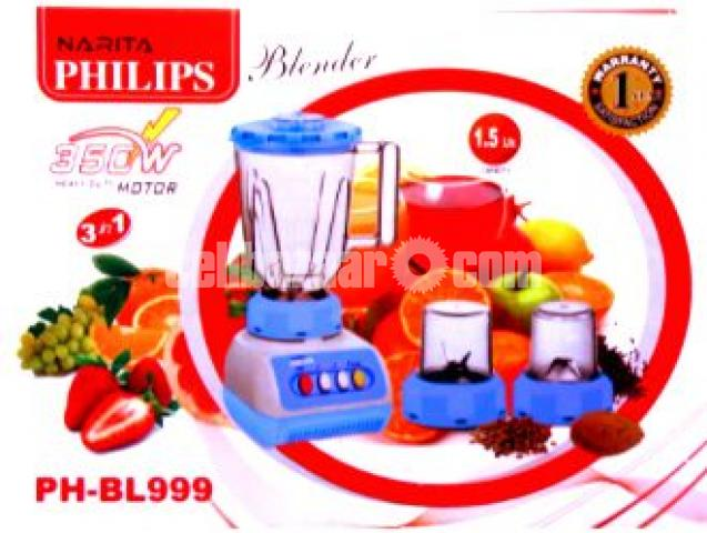 PHILIPS 3 In 1 Electric Blender - 2/3