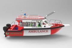 An 8m High Speed Ambulance Boat