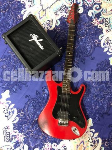 Electric Guitar And 22w Amplifer - 1/5