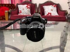 Nikon D5300 DSLR camera with 18-55mm lens - Image 2/4
