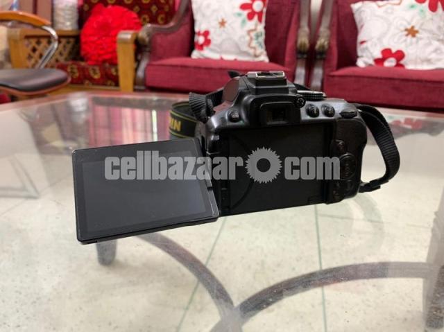 Nikon D5300 DSLR camera with 18-55mm lens - 3/4