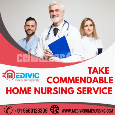 Pick Safe Patient Care Home Nursing Service in Boring Road, Patna by Medivic - 1/1