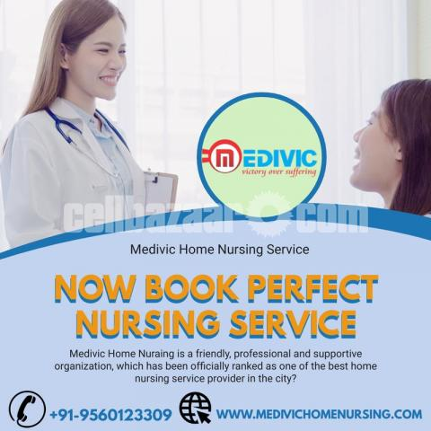 Choose Specific Home Nursing Service in Kankarbagh, Patna by Medivic - 1/1