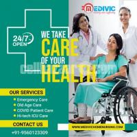 Receive Medivic Home Nursing Service in Patna for Corona Patient