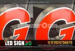 LED Sign Board Neon Sign Board SS Sign Board Name Plate Board LED Display Board