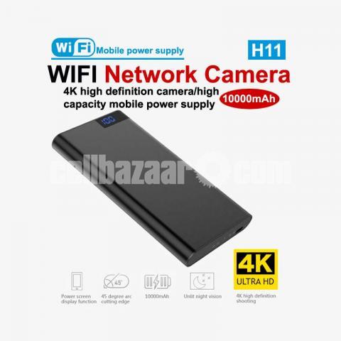 IP Camera Power bank Camera 10000mAh 4K Night Vision Live Wifi IP Camera Video Recorder - 2/6