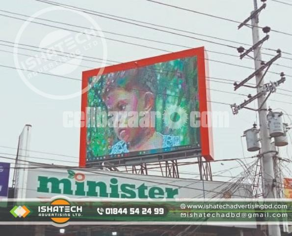 Running Big Project LED Moving Display p6 Screen Outdoor Fixed Installation Digital LED - 3/6