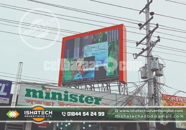 Running Big Project LED Moving Display p6 Screen Outdoor Fixed Installation Digital LED - 5/6