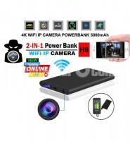 Live IP Camera 5000mAh Powerbank Night Vision Wifi IP Camera Spy Cam - Image 1/6
