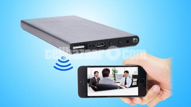 Live IP Camera 5000mAh Powerbank Night Vision Wifi IP Camera Spy Cam - 2/6