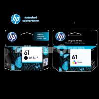 Genuine HP 61 Black & Colour Ink Cartridge Set
