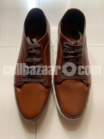 Leather sneakers 44 size - 1/3