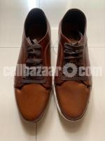 Leather sneakers 44 size