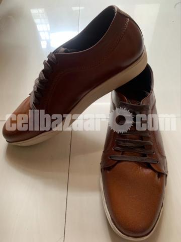 Leather sneakers 44 size - 2/3