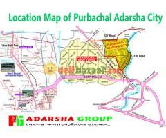 Cash Priec ৫ কাঠা প্লট বৈশাখী অফারে@ Adarsha Group