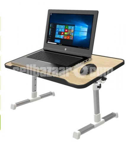 Multipurpose Foldable and Portable Laptop Table Study Table, Bed Table, Breakfast Table, Foldable - 1/3