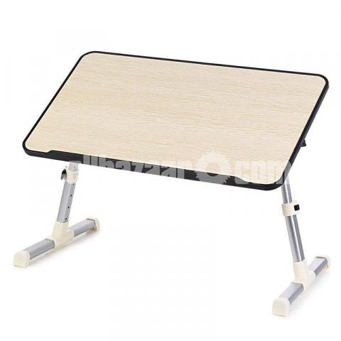 Multipurpose Foldable and Portable Laptop Table Study Table, Bed Table, Breakfast Table, Foldable - 2/3