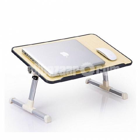 Multipurpose Foldable and Portable Laptop Table Study Table, Bed Table, Breakfast Table, Foldable - 3/3