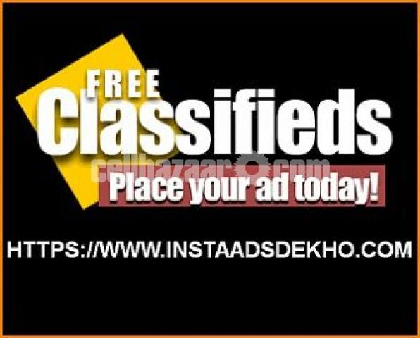 Post your free ads on India's best free classified site - 1/1