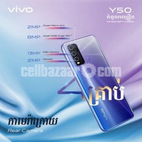 Vivo Y50 {Fresh Like New with fullbox} - 2/3